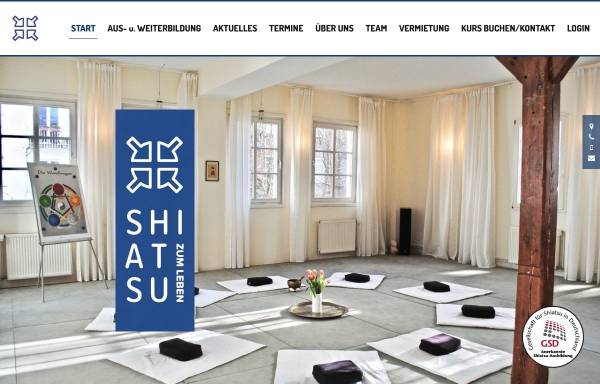 Vorschau von www.shiatsu-zum-leben.de, Shiatsu zum Leben