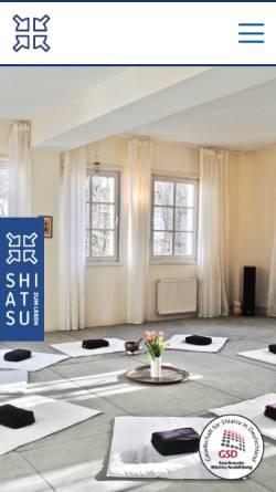Vorschau der mobilen Webseite www.shiatsu-zum-leben.de, Shiatsu zum Leben