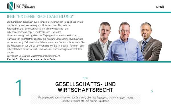 Vorschau von www.rechtsanwaelte-vs.de, Rechtsanwälte Dr. Neumann Neumann Rudolf Partnerschaft mbB