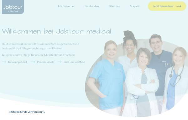 Vorschau von www.jobtour.de, Jobtour medical