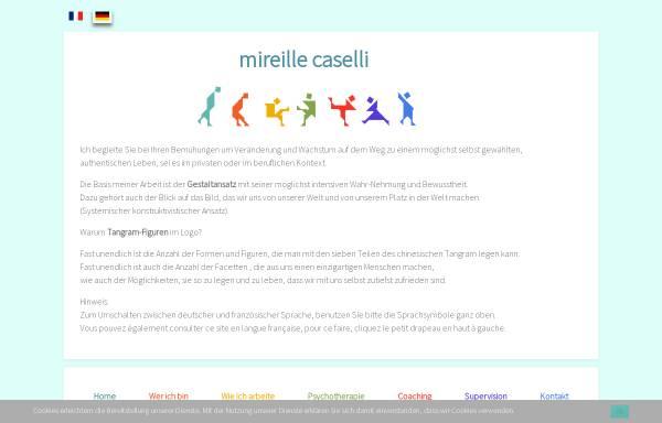 Vorschau von www.mireille-caselli.eu, Mireille Caselli