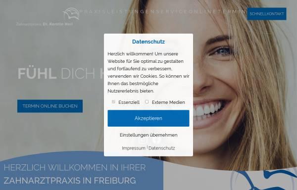 Vorschau von www.dr-heil.de, Dr. med. dent. Kerstin Heil
