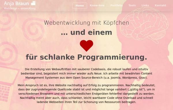 Vorschau von www.screen-ab.de, Anja Braun