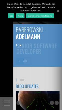 Vorschau der mobilen Webseite adelmann-solutions.com, Adelmann-solutions, Andreas Adelmann