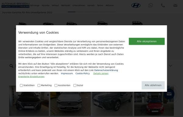 Vorschau von www.autohaus-breisgau.de, Autohaus Breisgau
