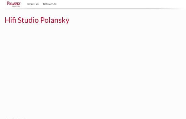 Vorschau von www.polansky-hifi.de, Polansky - HiFi & HomeCinema