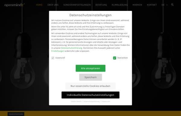 Vorschau von www.openmindz.de, Openmindz GmbH