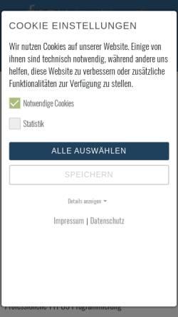 Vorschau der mobilen Webseite www.frey-imedien.de, frey | interaktive medien, Harald Frey
