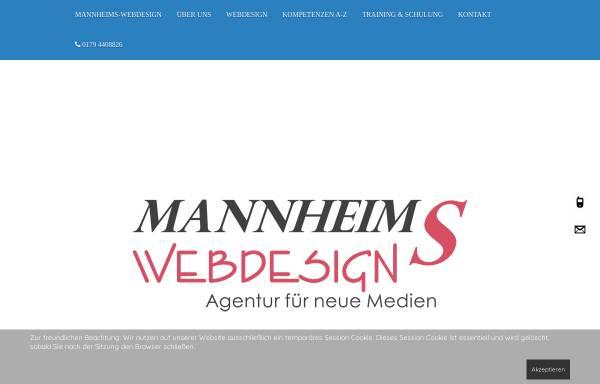 Vorschau von www.mannheims-web.de, Mannheims-Web, Klaus Imhof