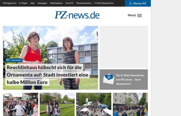Vorschau von www.pz-news.de, Pforzheimer Zeitung GmbH & Co