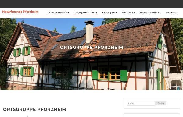 Vorschau von www.naturfreunde-pforzheim.de, Naturfreunde Ortsgruppe Pforzheim