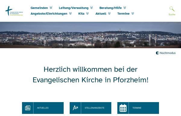 Vorschau von www.evkirche-pf.de, Katholisches Dekanat Pforzheim