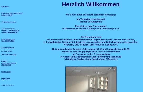 Vorschau von www.braun-pforzheim.de, Günther Braun GmbH & Co. KG