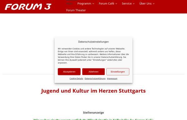 Vorschau von www.forum3.de, Forum 3
