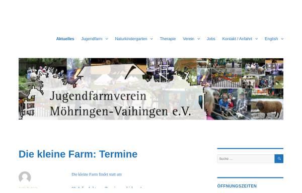 Vorschau von jufa.de, Jugendfarm Möhringen Vaihingen e. V.