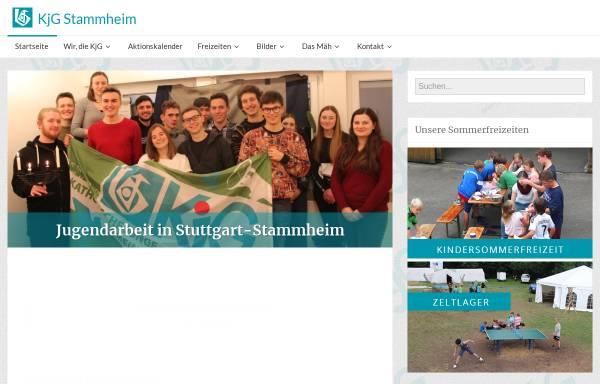 Vorschau von kjg-stammheim.com, Katholische Junge Gemeinde Stammheim (KJG)