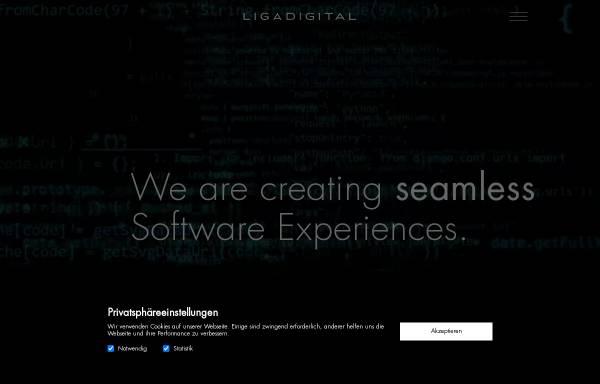Vorschau von www.ligadigital.com, Ligadigital AG
