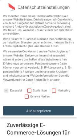 Vorschau der mobilen Webseite www.exconcept.de, Exconcept GmbH
