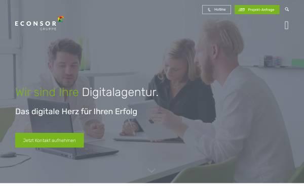 Vorschau von www.econsor.de, econsor GmbH