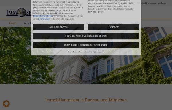 Vorschau von www.immoservice-eder.de, Immobilien-Service Eder