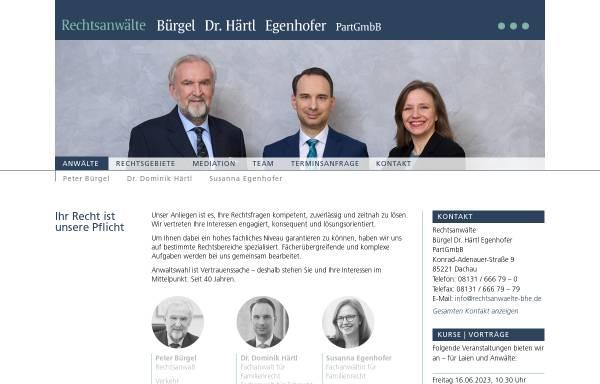 Vorschau von www.cbk-rechtsanwaelte.de, Cipa Bürgel Köpf Rechtsanwälte