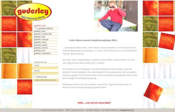 Vorschau von www.guderley.de, P. Guderley GmbH