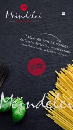 Vorschau der mobilen Webseite www.meindelei.de, Meindelei