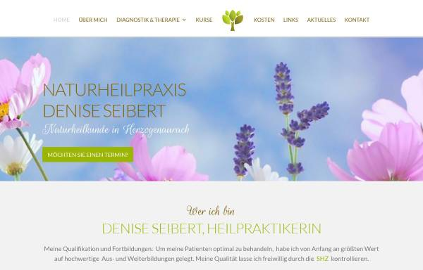 Vorschau von www.naturheilpraxis-deniseseibert.de, Naturheilpraxis Denise Seibert