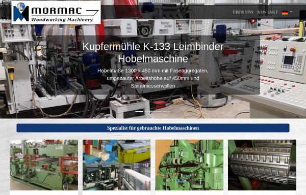Vorschau von www.mormac.de, Mormac Machinery GmbH & Co. KG