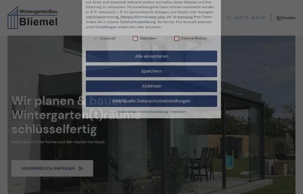 Msk Wintergarten bliemel wintergarten bau gmbh ergoldsbach städte und gemeinden