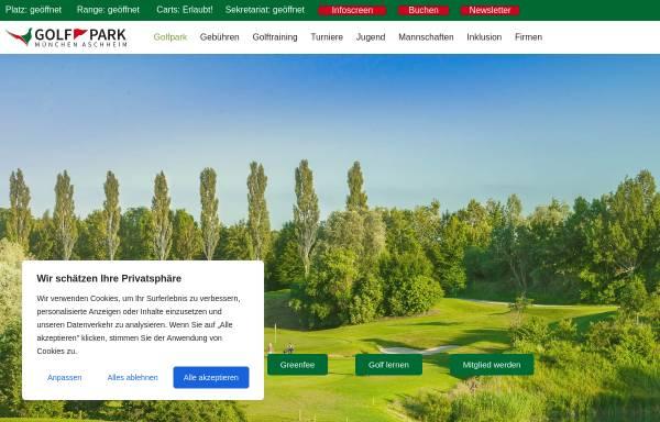 Vorschau von www.gp-ma.de, Golfpark München Aschheim