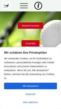 Vorschau der mobilen Webseite www.gp-ma.de, Golfpark München Aschheim