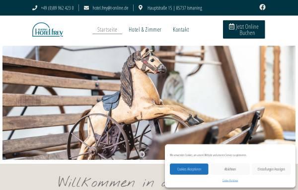 Vorschau von www.hotel-frey.de, Hotel Garni Frey