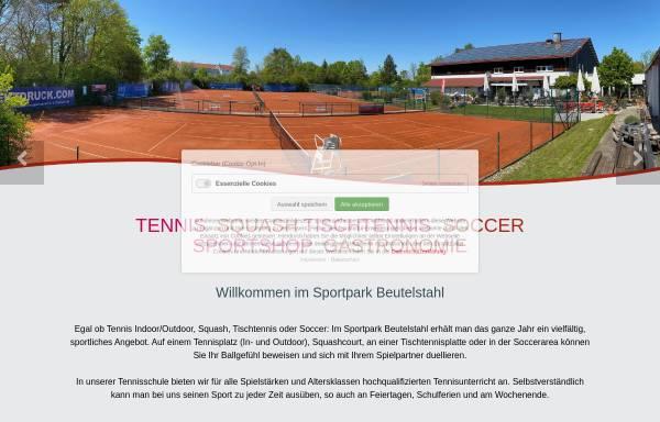 Vorschau von www.tennis-soccer-squash-muenchen.de, Sportpark Beutelstahl