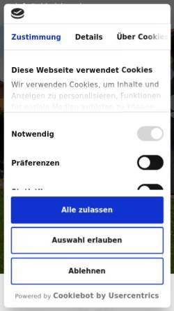 Vorschau der mobilen Webseite www.sj-holzbau.de, Siegfried Jörg Holzbau GmbH