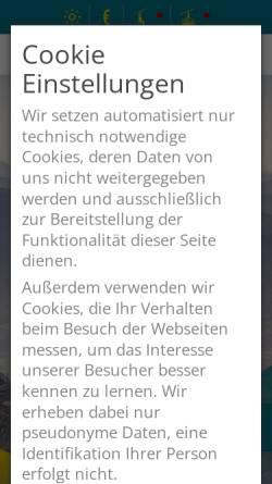 Vorschau der mobilen Webseite www.hochriesbahn.de, Die Hochriesbahn