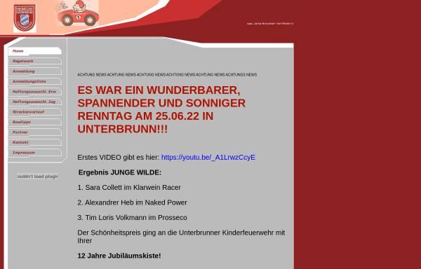 Vorschau von unterbrunner-seifenkistenrennen.de, Freiwillige Feuerwehr Unterbrunn