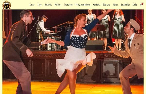 Vorschau von www.swingandthecity.com, Swing and the City, Christine von Scheidt