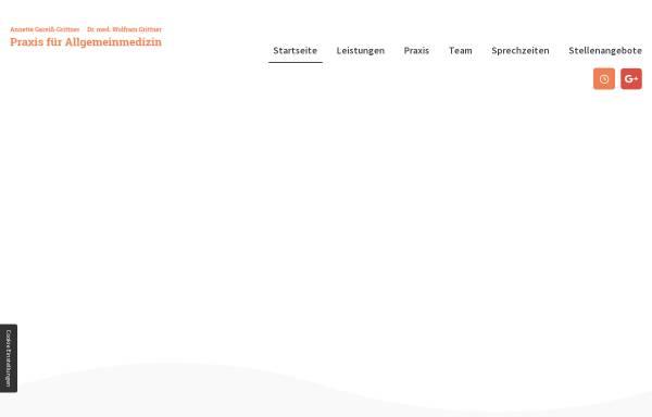 Vorschau von www.gareiss-grittner-arztpraxis.de, Gemeinschaftspraxis für Allgemeinmedizin GbR A. Gareiss-Grittner & W. Grittner