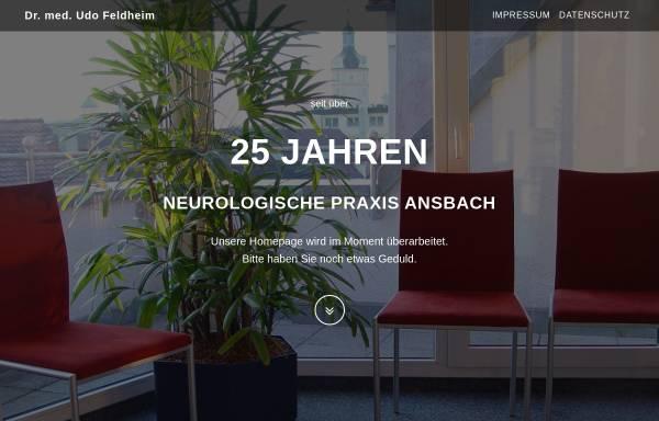 Vorschau von www.dr-feldheim.de, Neurologische Praxis Dr. med. Udo Feldheim