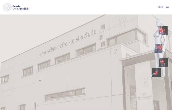 Vorschau von www.praxis-froehlich-ansbach.de, Praxis Uwe Fröhlich