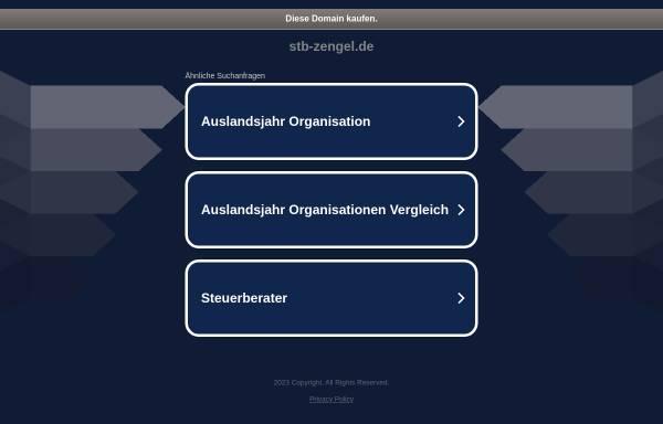 Vorschau von www.stb-zengel.de, Steuerberater Edgar Zengel
