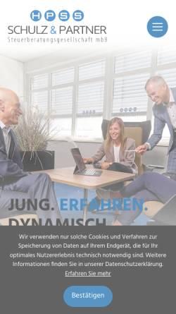 Vorschau der mobilen Webseite www.hpss-stbg.de, SPS Revisions- und Treuhandgesellschaft mbH