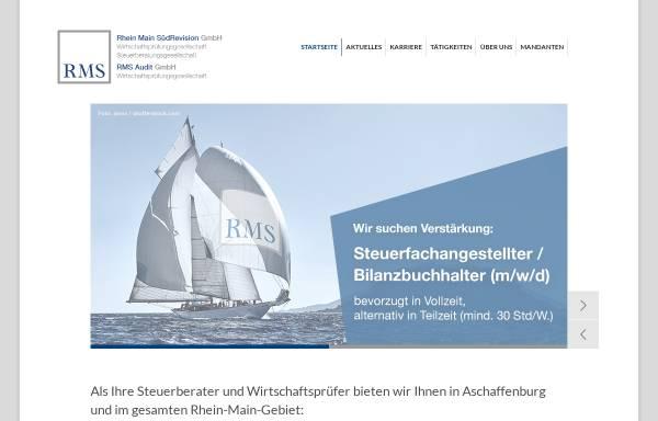 Vorschau von www.rms-wp.de, Rhein-Main-Treuhand GmbH