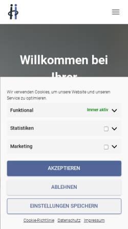 Vorschau der mobilen Webseite www.rechtsanwalt-zeeb.de, Zeeb Daniel