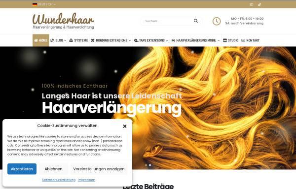 Vorschau von www.wunderhaar.de, Wunderhaar