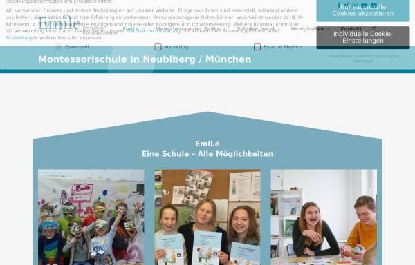 Vorschau von www.emile-montessori.de, Emile Montessori-Schule