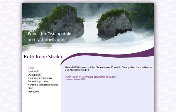 Vorschau von naturheilpraxis-muenchen.de, Ruth Straka