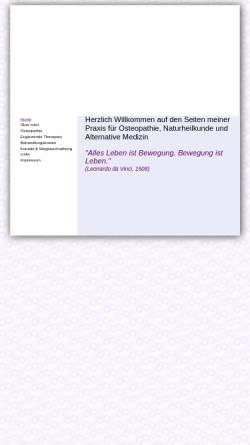 Vorschau der mobilen Webseite naturheilpraxis-muenchen.de, Ruth Straka