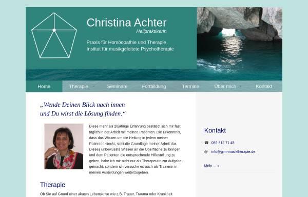 Vorschau von www.christina-achter.de, Christina Achter